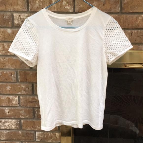 J. Crew Tops - White T-shirt